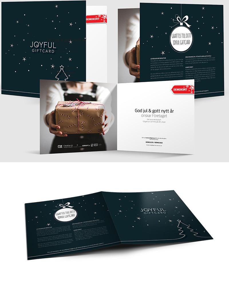 Joyful Giftcard 2019 kort