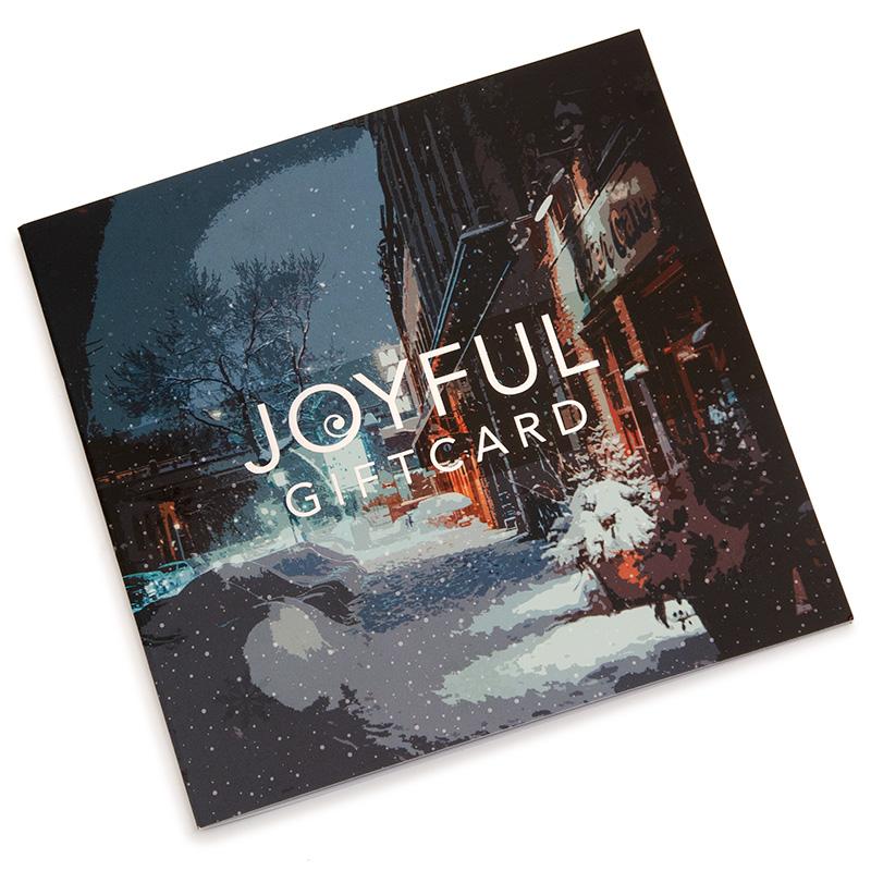Joyful Giftcard 2020 220