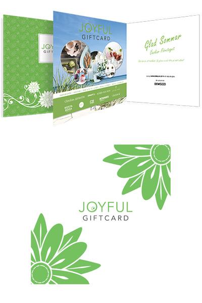 Joyful giftcard sommar