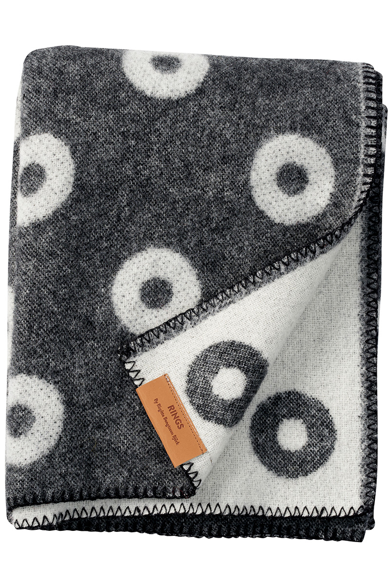 Klippan Rings 203091 wool throw