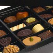 Elegant chokladask