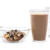 Latteglas & sk�lar set