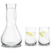 Future karaff & 2 glas
