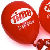 Ballong med tryck