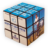 Rubiks Kub med tryck