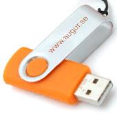 USB-minne 2GB m tryck