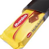 Chokladkaka med tryck