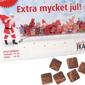 Chokladkalender m tryck