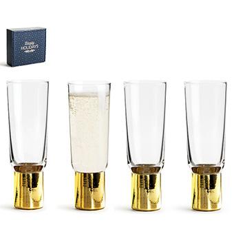 Club champagneglas 4-pack