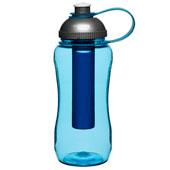 Flaska med iskolv
