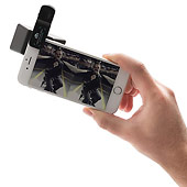 3D-lins för telefonen