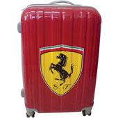 Resväska med tryck