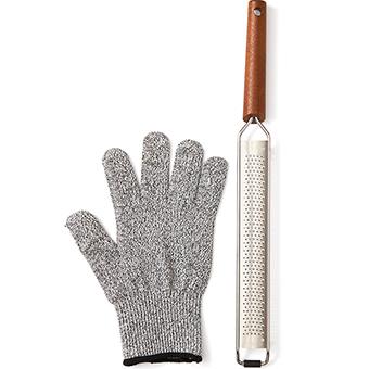 Rivjärn och handske