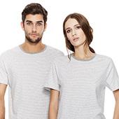 Unisex T-shirt Randig