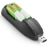USB batteriladdare