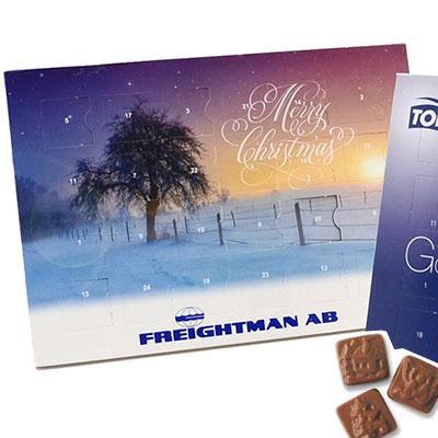chokladkalender A5 Freightman