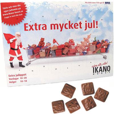 chokladkalender ikano