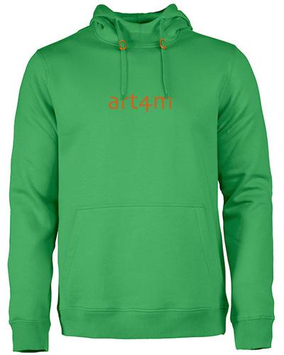 fastpitchrsx hoodie gron herr m logo