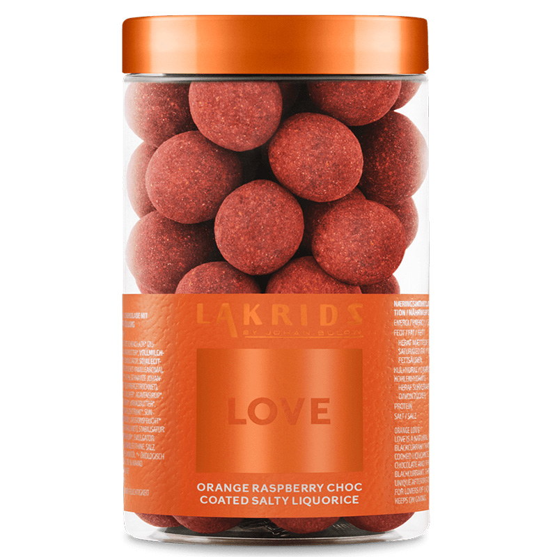 lakrids orange love 250g