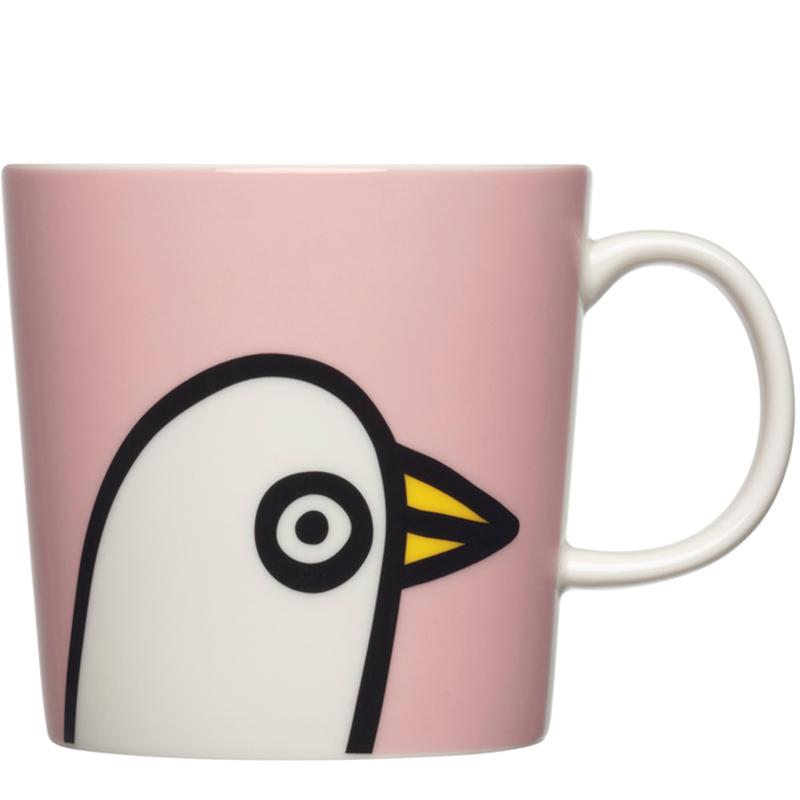 mugg oiva toikka collection Birdie pink