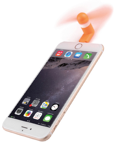 phone fan action