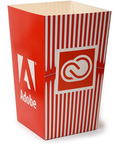 popcorn bagare Adobe