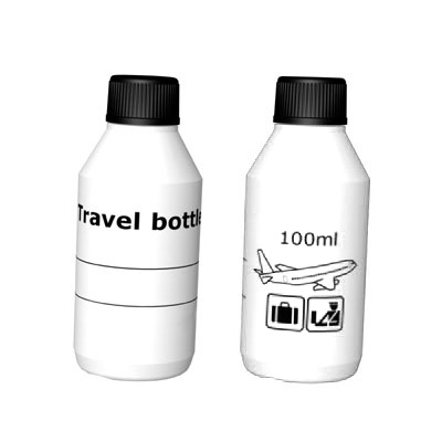 reseflaska 100 ml 2st