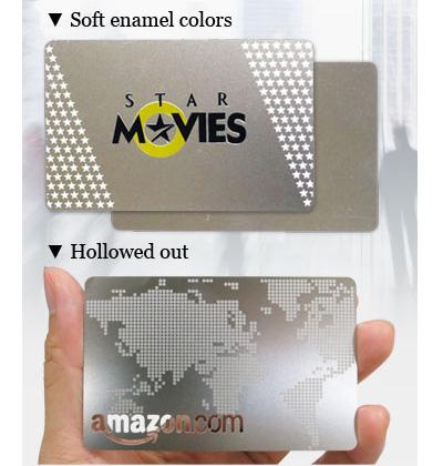 visitkort i metall