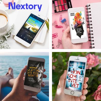 Nextory | Läs och lyssna var som helst, när som helst
